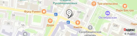 АКИВА на карте Нижнего Новгорода