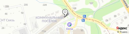 Оил Мэн на карте Нижнего Новгорода