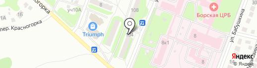 ОПЛАТА.РУ на карте Бора