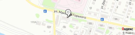 Почтовое отделение №6 на карте Бора