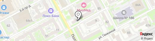 Нижегородский центр медиации и юридического консалтинга на карте Нижнего Новгорода