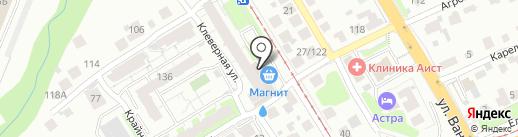 Гранд на карте Нижнего Новгорода