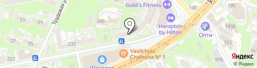 Шторы с именем на карте Нижнего Новгорода