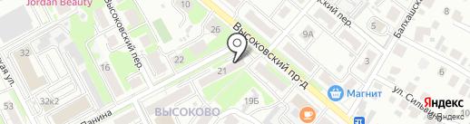 Второе дыхание на карте Нижнего Новгорода