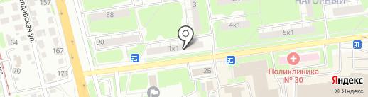 Непьющий сапожник на карте Нижнего Новгорода