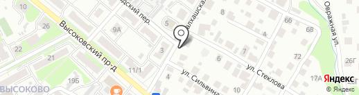 Антивмятина на карте Нижнего Новгорода