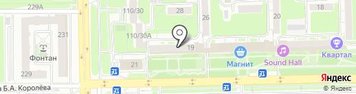 Мобильный Доктор на карте Нижнего Новгорода