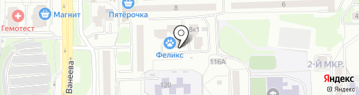 Веб-Консалтинг на карте Нижнего Новгорода