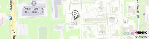 Ли ли на карте Нижнего Новгорода