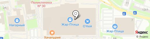 Карпет Трейд на карте Нижнего Новгорода