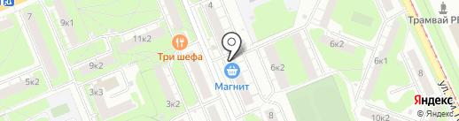 Магазин дисков на карте Нижнего Новгорода
