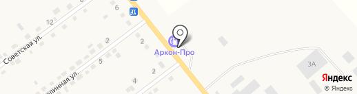АЗС ТНК на карте Береславки
