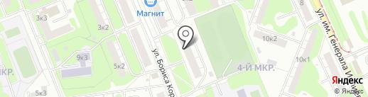 Ателье на карте Нижнего Новгорода