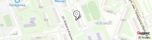 Сладкая сказка на карте Нижнего Новгорода