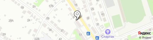 Городская библиотека №1 на карте Бора