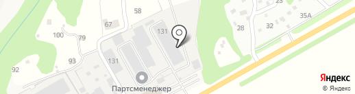 PartsManager на карте Опытного