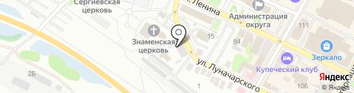 Ростехнадзор, Волжско-Окское управление Федеральной службы по экологическому на карте Бора