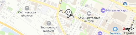 Юридическое бюро Лукьяновой Н.Ю. на карте Бора