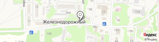 Бор Фармация, ЗАО на карте Железнодорожного
