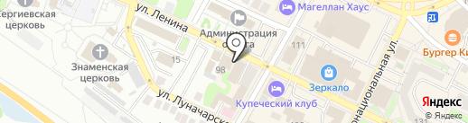 Промсвязьбанк, ПАО на карте Бора