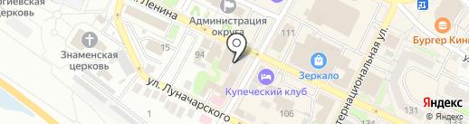 Магазин обуви на карте Бора