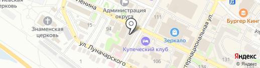 Агентство недвижимости на карте Бора