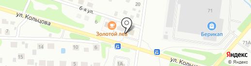 Малинка на карте Бора