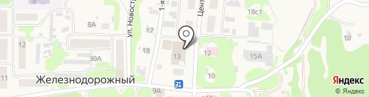 Банкомат, Сбербанк, ПАО на карте Железнодорожного
