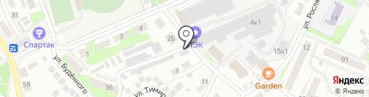 Шиномонтажная мастерская на карте Бора