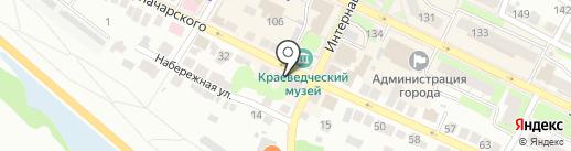 Центр социального обслуживания граждан пожилого возраста и инвалидов г. Бор на карте Бора