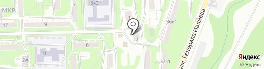 244, ТСЖ на карте Нижнего Новгорода
