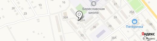 Волго-Дон, ПО на карте Береславки