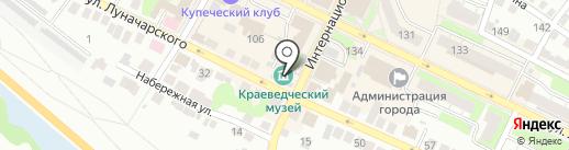 Борский краеведческий музей на карте Бора