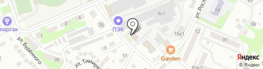 Витраж Дизайн на карте Бора