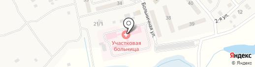 Береславская участковая больница на карте Береславки