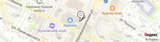 Банкомат, НБД-банк, ПАО на карте Бора