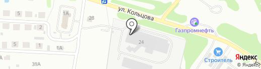 ТРОСИФОЛЬ на карте Бора