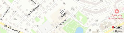 Аквасалон на карте Бора