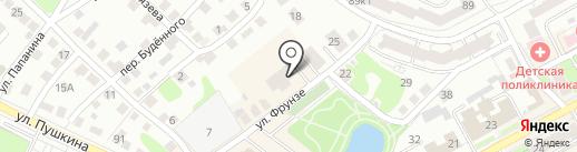 Магазин товаров для аквариумистики на карте Бора