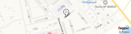 Гастроном на карте Береславки