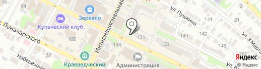 Магазин одежды на карте Бора