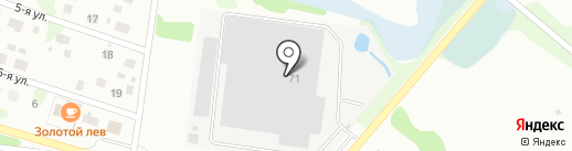 Берикап на карте Бора