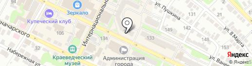Сольвейг на карте Бора