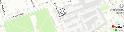 Аварийно-ремонтная служба на карте Бора