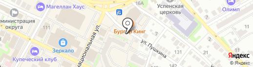 Карапуз на карте Бора