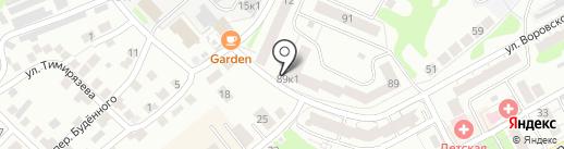 Магазин бытовой химии на карте Бора