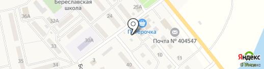Орхидея на карте Береславки
