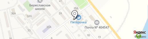 Покупочка на карте Береславки