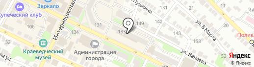 Ковры-нн.рф на карте Бора