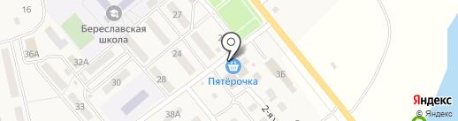 Магазин сантехники на карте Береславки